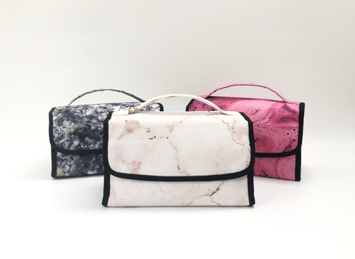 Picture of Recycled Material Make Up Bag